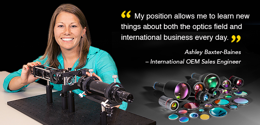 Ashley Baxter-Baines - International OEM Sales Engineer